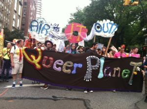 AIR IT OUT banner at the People's Climate March